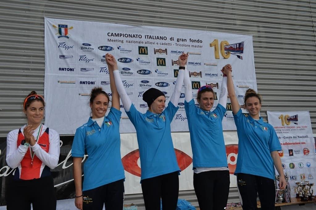 Il Rowing Club Genovese si riconferma Campione d'Italia