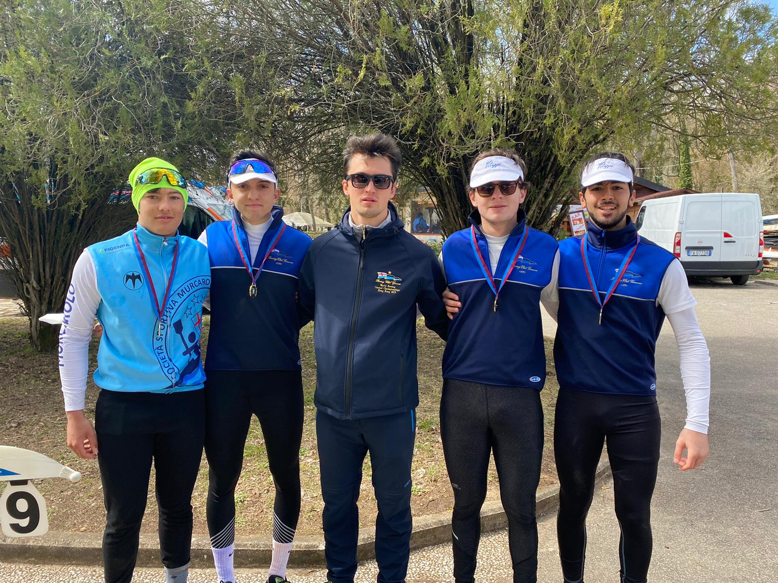 ROWING D'ORO AL PRIMO MEETING NAZIONALE